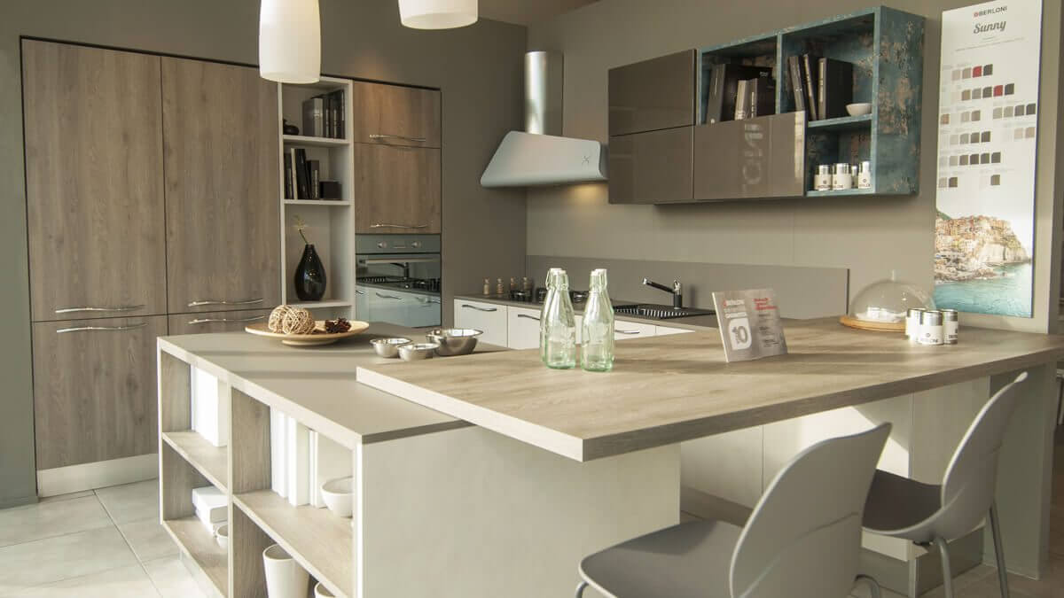 Le migliori soluzioni di arredamento cucina aran e berloni for Migliori riviste arredamento