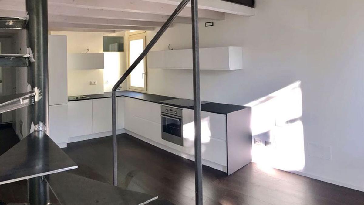Ristrutturazione appartamento con soppalco a Mantova - CASA+