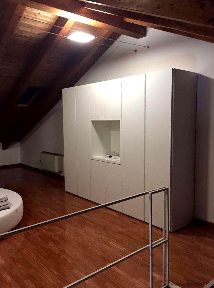 Realizzazione camera da letto in mansarda Tomasella - CASA+
