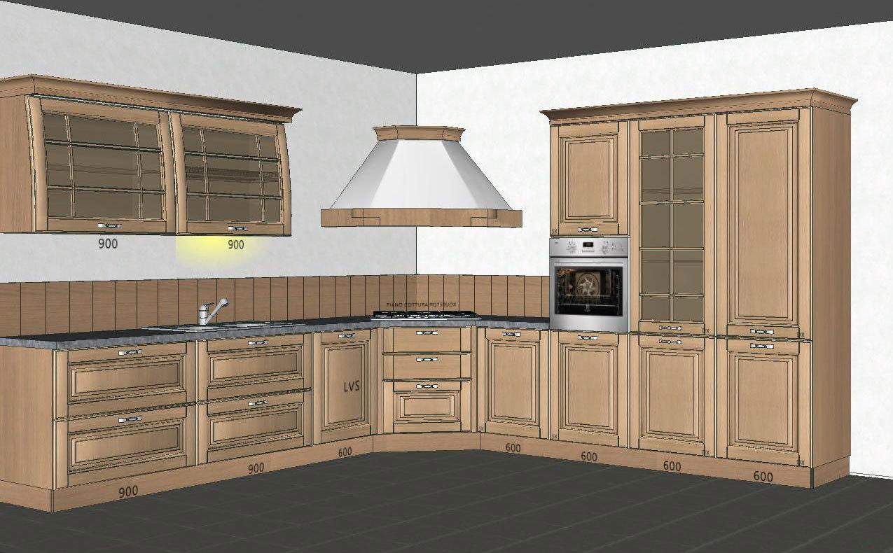 Cucina stile classico di Stosa realizzata da CASA+ Mantova ...
