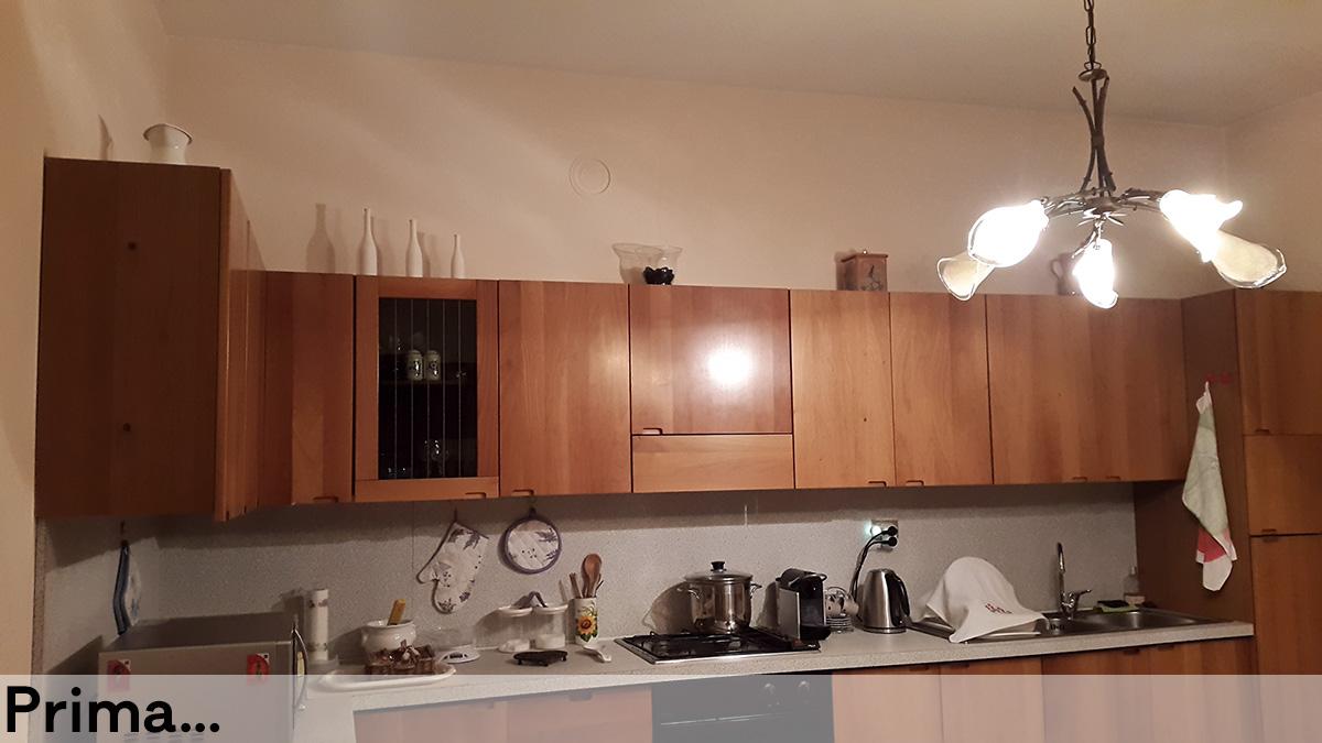 Recupero cucina anni 70 a Suzzara - CASA+